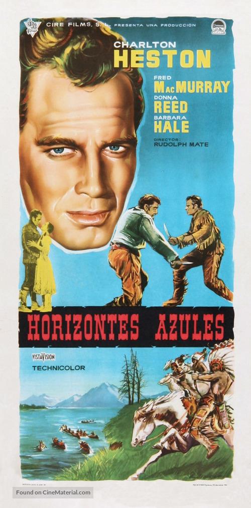 The Far Horizons - Spanish Movie Poster