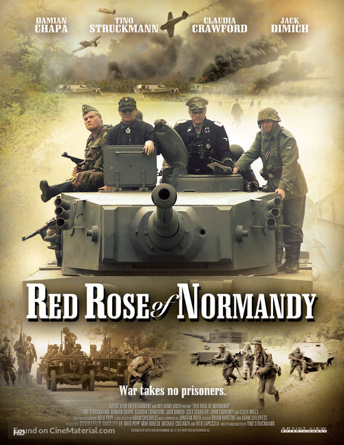 Red Rose of Normandy - Movie Poster
