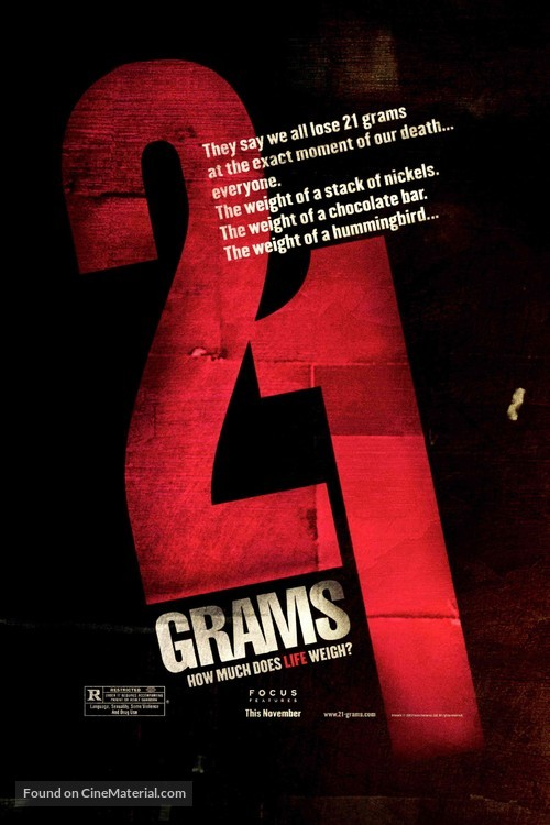 21 Grams - Movie Poster
