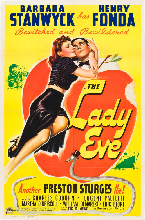 The Lady Eve - Movie Poster