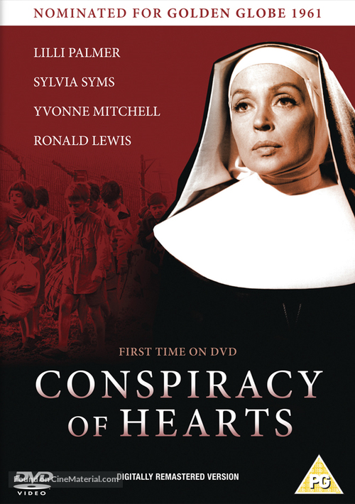 Conspiracy of Hearts - British DVD cover