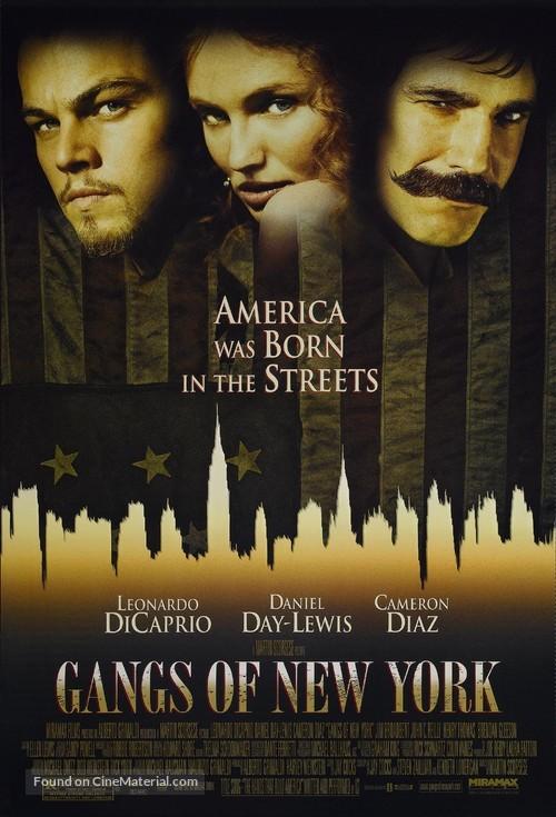 Gangs Of New York - Movie Poster