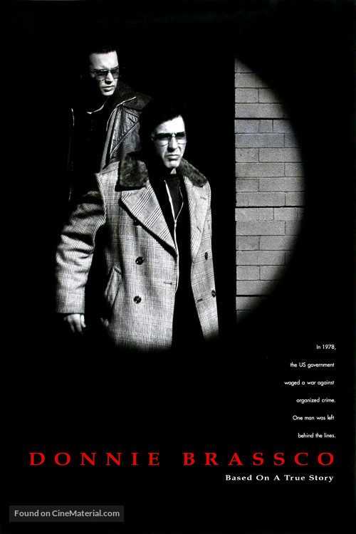 Donnie Brasco - Theatrical movie poster