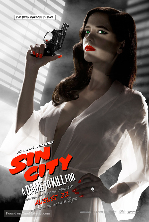 Sin City: A Dame to Kill For - Character poster