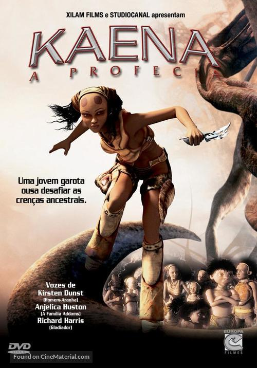 Kaena - Brazilian DVD cover