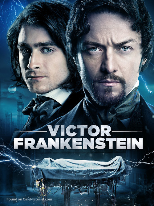 Victor Frankenstein - Movie Cover