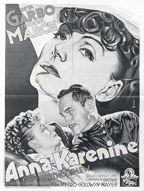 Anna Karenina - French Movie Poster
