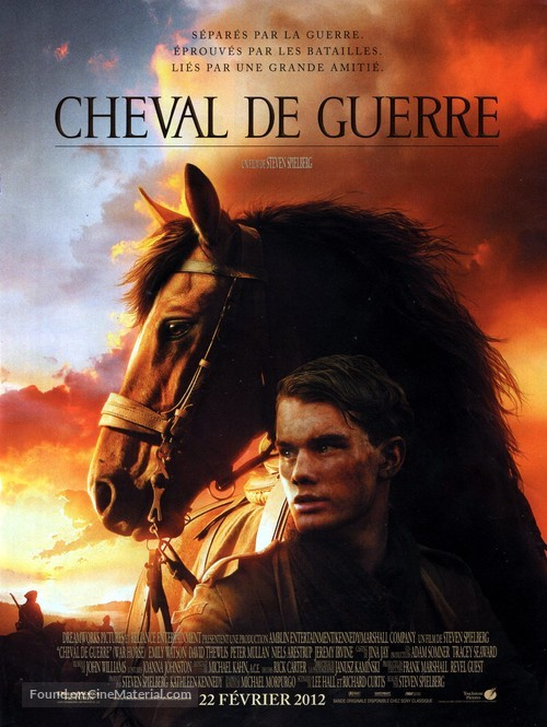 War Horse - French Movie Poster