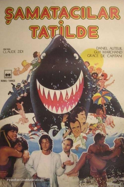 Les sous-doués en vacances - Turkish Movie Poster