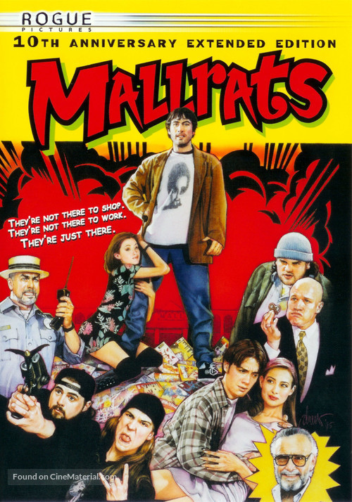 Mallrats - DVD movie cover