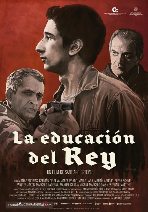 La educación del Rey - Argentinian Movie Poster