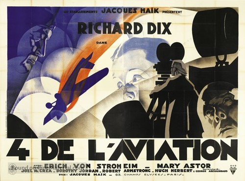 The Lost Squadron - French Movie Poster