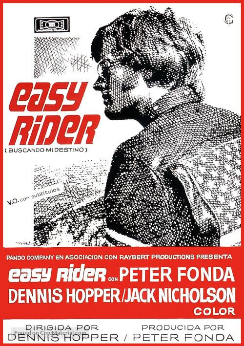 Easy Rider - Spanish Movie Poster