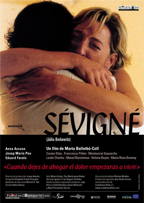 Sévigné - Spanish poster