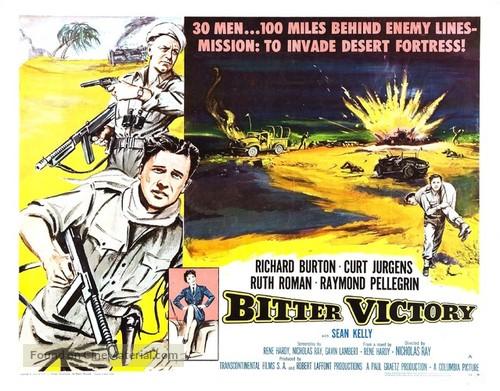Image result for bitter victory film