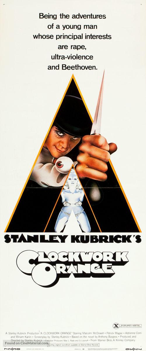 A Clockwork Orange - Theatrical poster