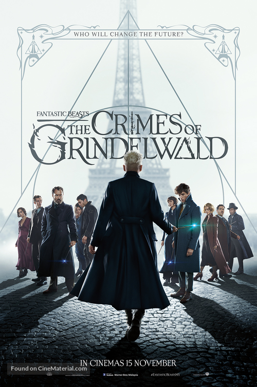 Fantastic Beasts: The Crimes of Grindelwald - Malaysian Movie Poster