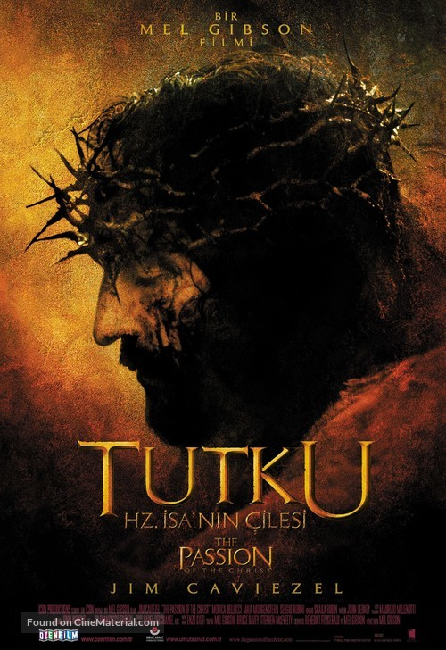 The Passion of the Christ - Turkish Movie Poster