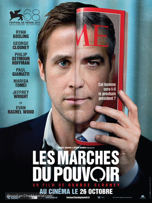 The Ides of March - French Movie Poster