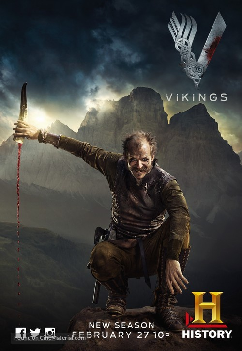 """Vikings"" - Movie Poster"