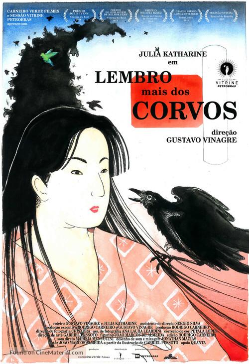 Lembro mais dos Corvos - Brazilian Movie Poster