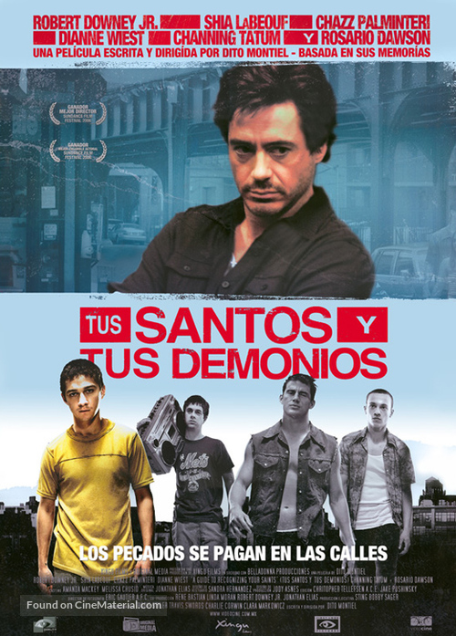 A Guide to Recognizing Your Saints - Mexican Movie Poster