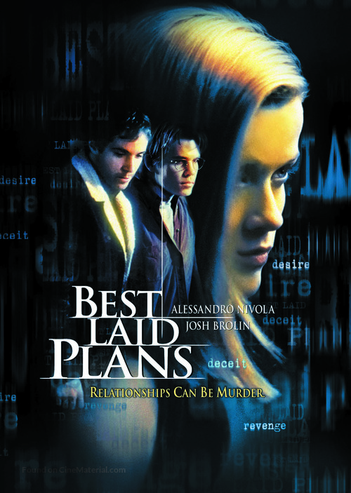 best laid plans dvd cover