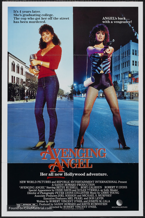 Avenging Angel - Movie Poster