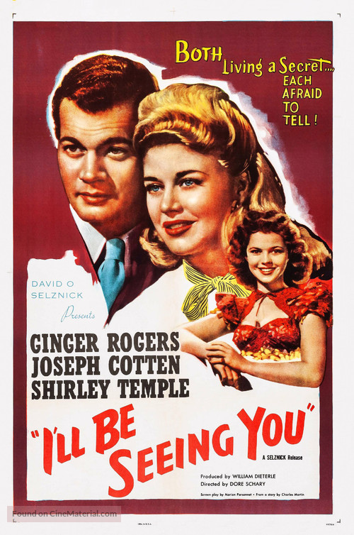 I'll Be Seeing You - Movie Poster