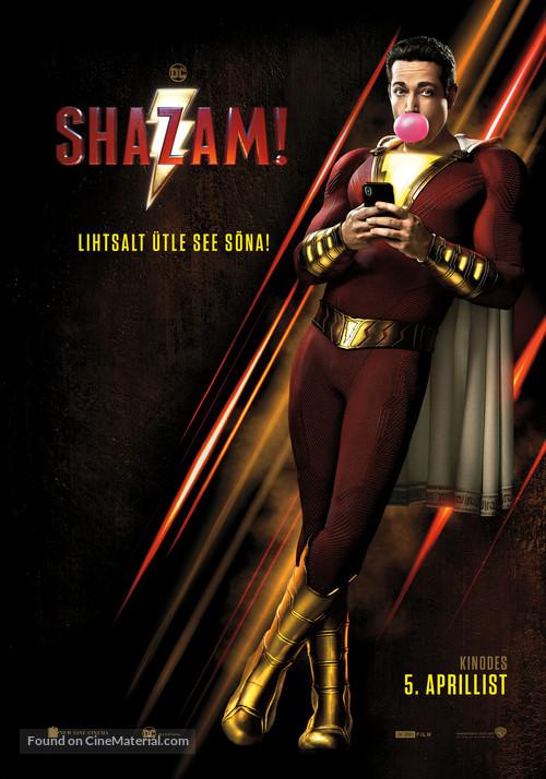 Shazam! - Estonian Movie Poster