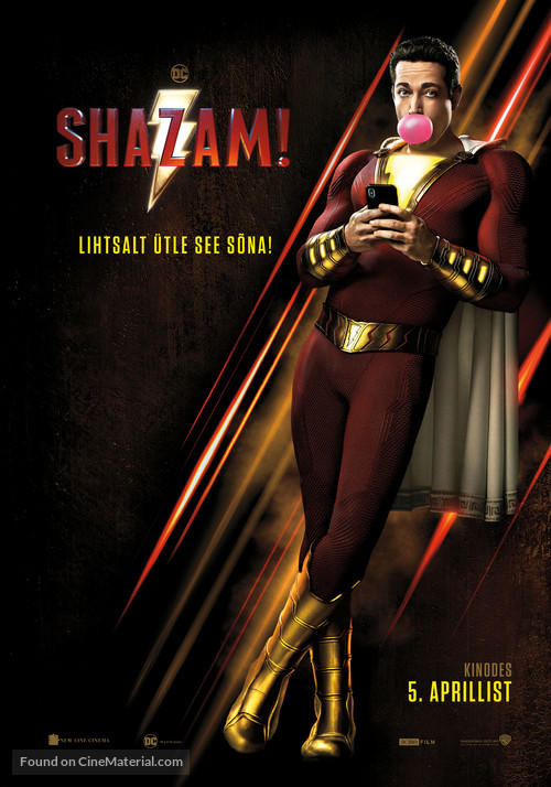 Shazam! - Estonian Movie Poster