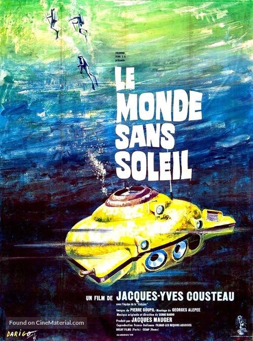 Le monde sans soleil - French Movie Poster