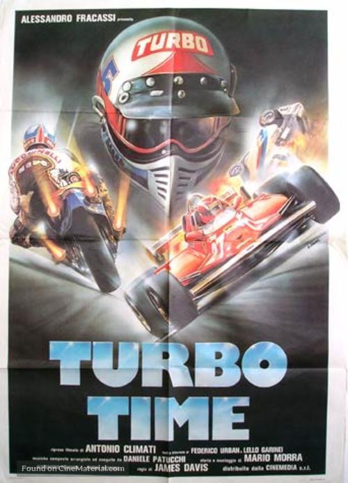 Turbo time - Italian Movie Poster