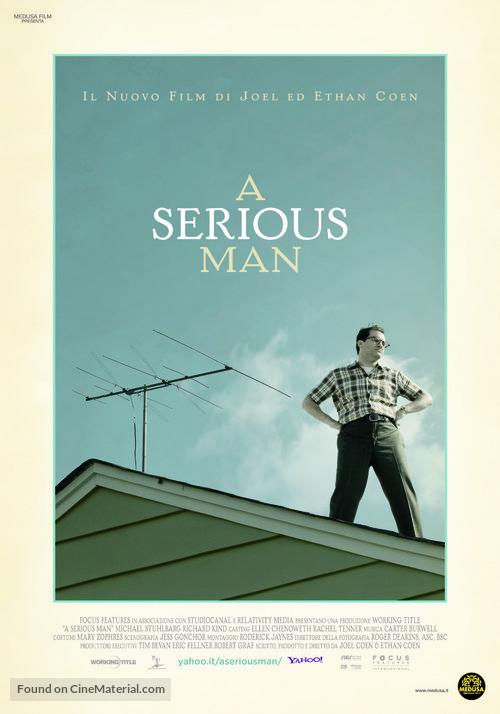 A Serious Man - Italian Movie Poster
