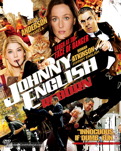 Johnny English Reborn - Singaporean DVD cover
