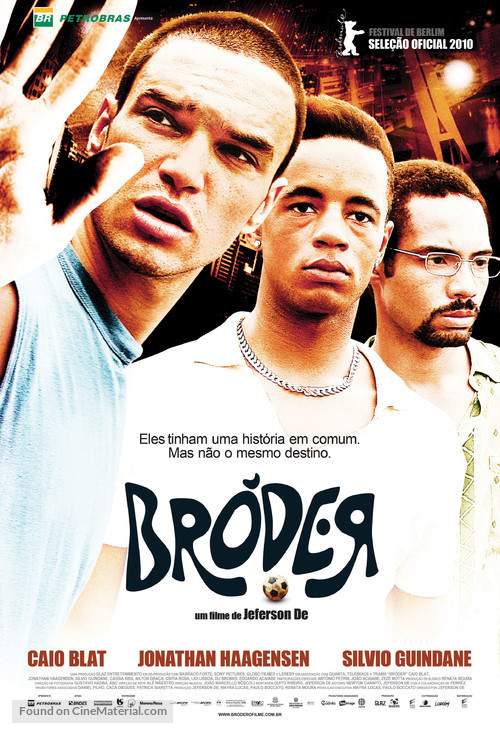 Bróder! - Brazilian Movie Poster