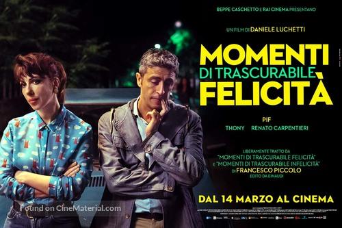 Momenti di trascurabile felicità - Italian Movie Poster