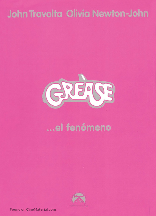 Grease - Spanish Movie Cover