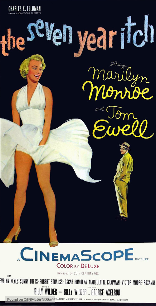 The Seven Year Itch - Movie Poster