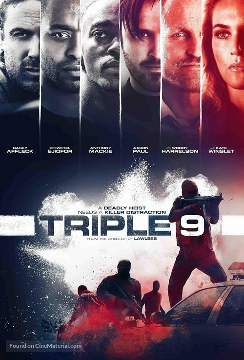 Triple 9 - Movie Poster