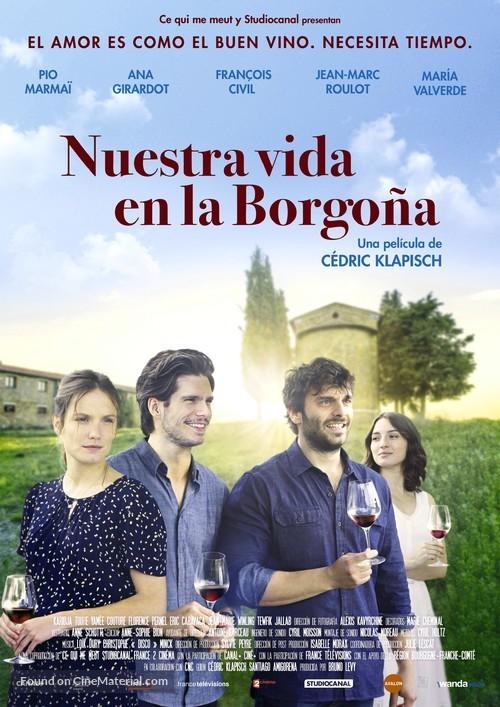 Ce Qui Nous Lie 2017 Spanish Movie Poster
