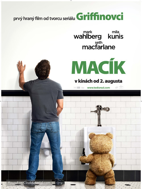 Ted - Slovak Movie Poster