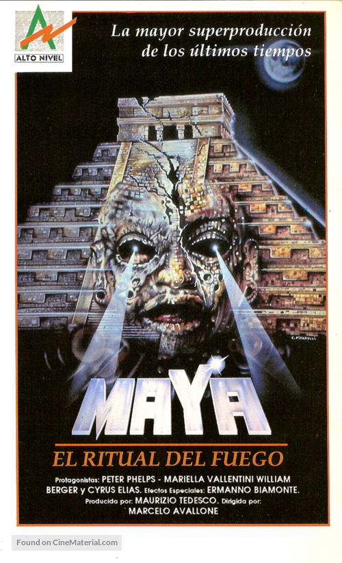 Maya - Argentinian VHS cover
