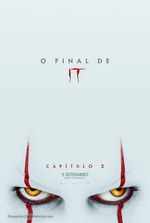 It: Chapter Two - Portuguese Movie Poster