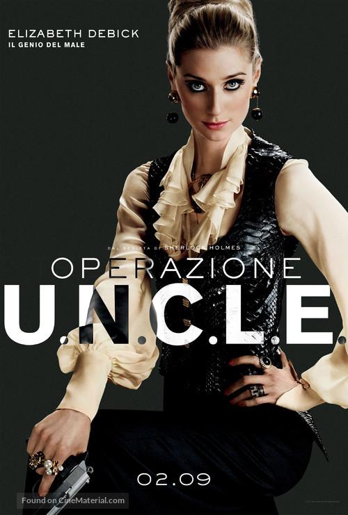 The Man from U.N.C.L.E. - Italian Movie Poster