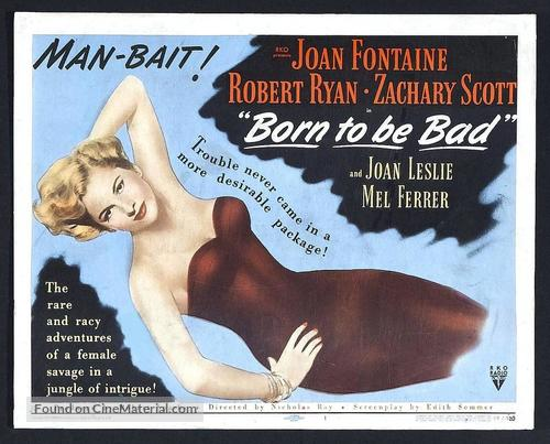 Born to Be Bad - Movie Poster