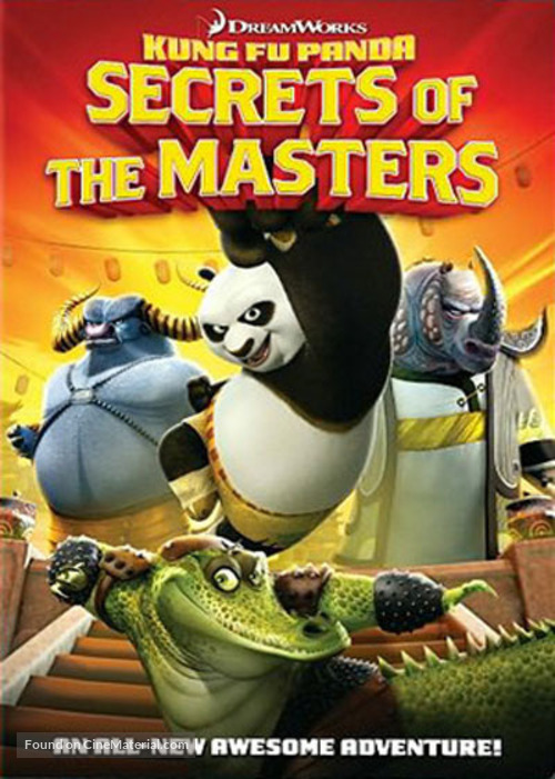 Kung Fu Panda: Secrets of the Masters - DVD movie cover