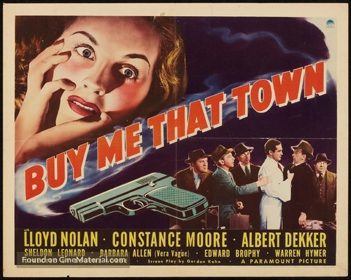 Buy Me That Town - Movie Poster