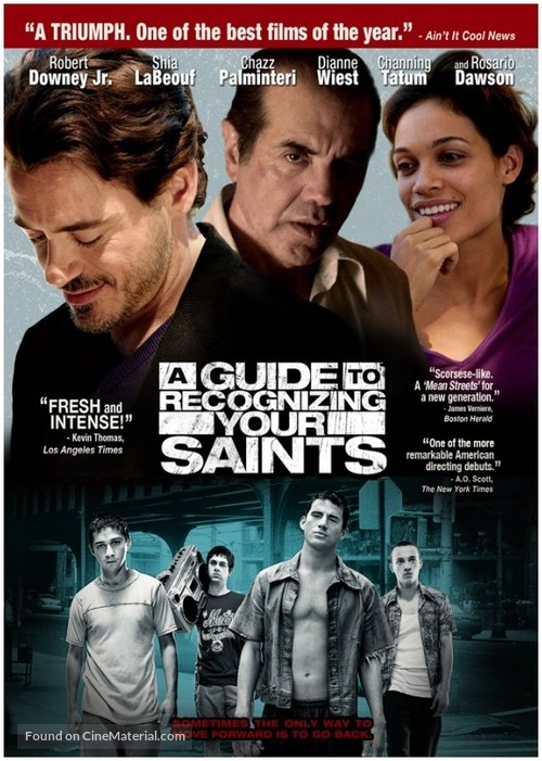 A Guide to Recognizing Your Saints - DVD movie cover
