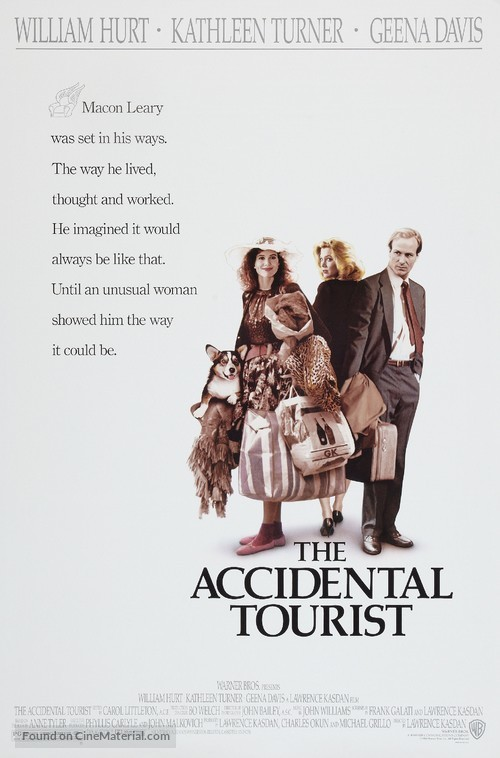 The Accidental Tourist - Movie Poster